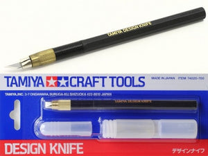 Tamiya #74020 Design Knife With 30 Blades