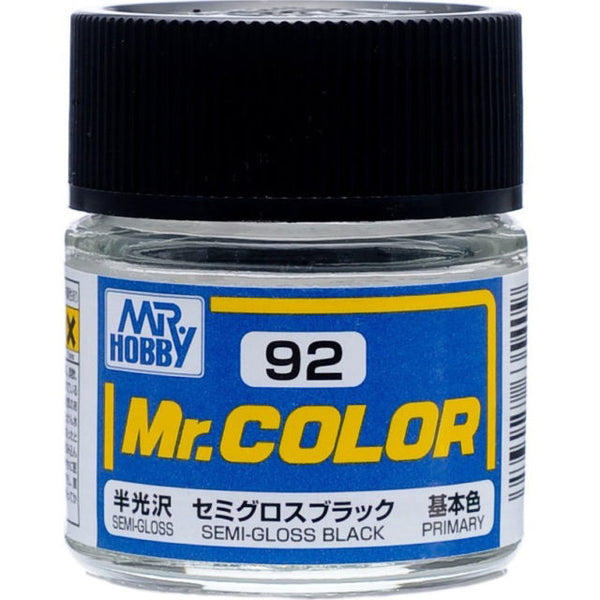 MR COLOR C92  Black Semi-Gloss 10ml