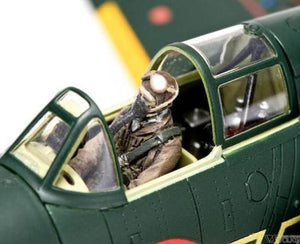 ZOUKEI-MURA SWS48-01-F01  Shinden forward facing pilot figure 1:48 Scale