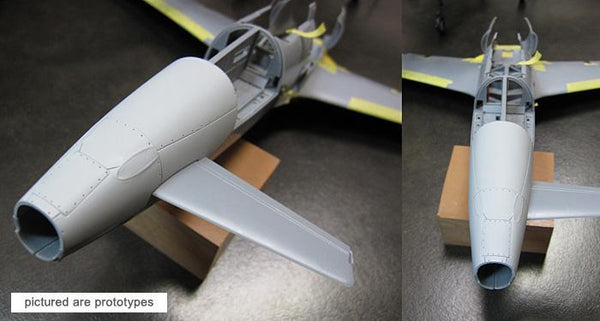 ZOUKEI-MURA SWS01-M02 J7W1 Shinden Early Stage Cowling - Detail Update 1:32 Scale