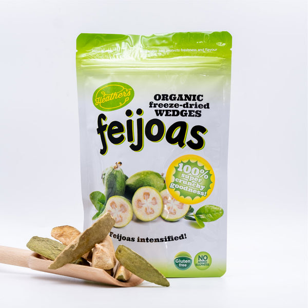 Freeze-Dried Feijoa Wedges 25g