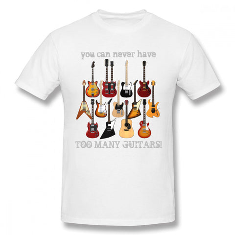 Image of Never Too Many Guitars T-Shirt
