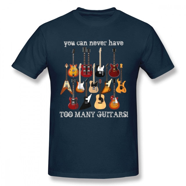 Never Too Many Guitars T-Shirt