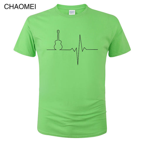 Image of Guitar Heartbeats T-shirt
