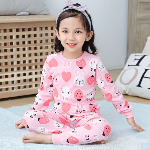 Fun Pink Pajama set