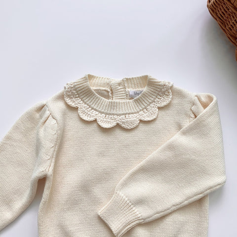 Lovely Lace Sweater