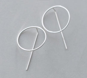 Design Silver Earrings