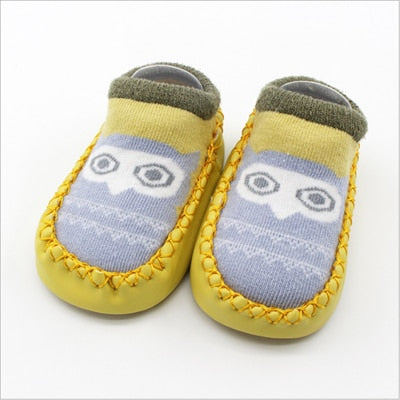 Image of Baby Socks With Rubber Soles