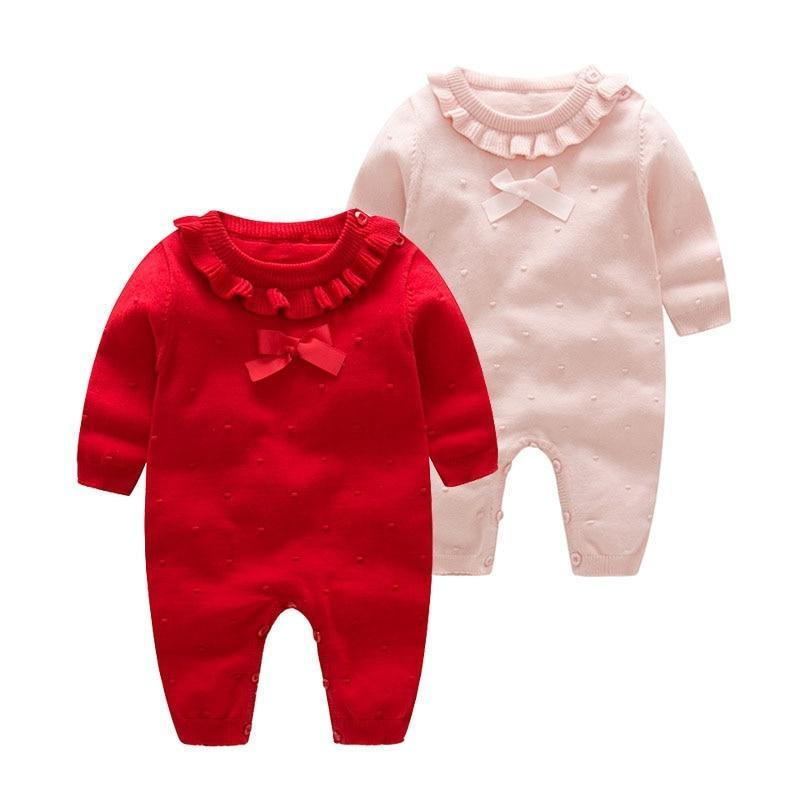 Baby Knitted Jumpsuit