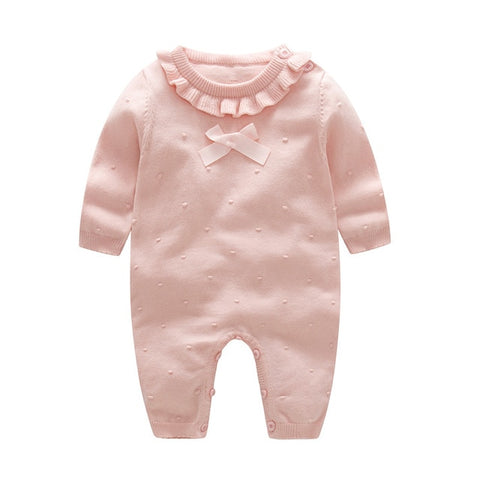 Image of Baby Knitted Jumpsuit