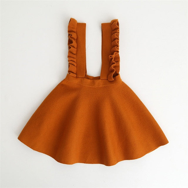 Ruffle Suspender Dress