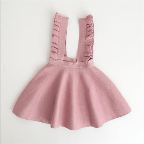 Image of Ruffle Suspender Dress