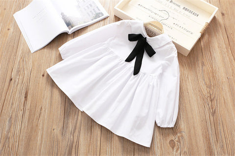 Image of Velvet Bow Knot Dress