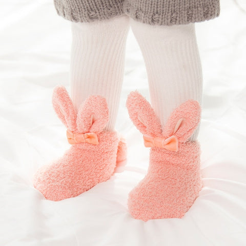 Image of Rabbit Ears Fleece Socks
