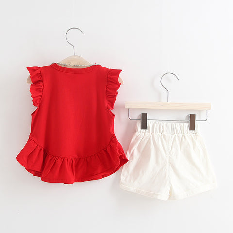 2-Piece solid color set
