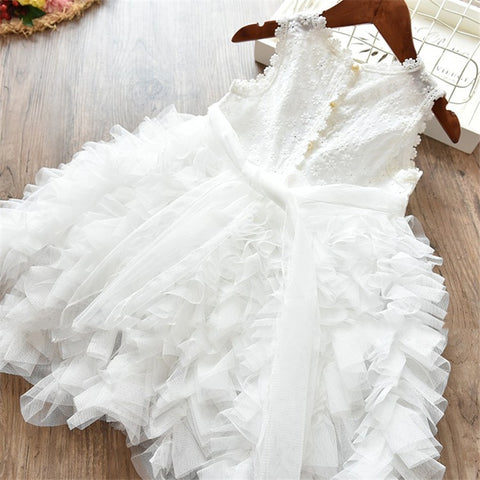 Image of Dream Ruffle Tulle Dress