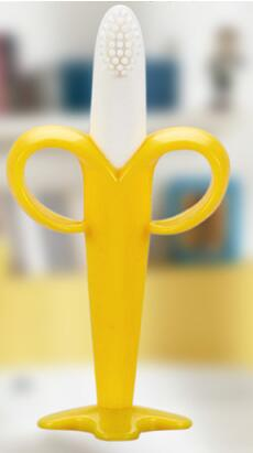 Image of Silicone Training Toothbrush and Teether