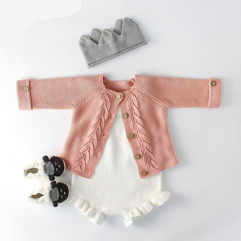 Romper and Cardigan (sold separately)