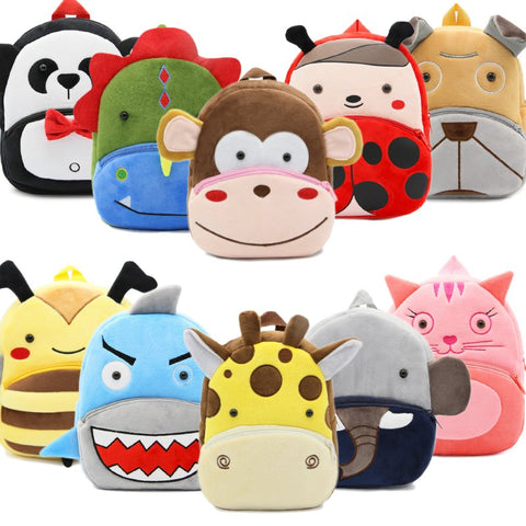 Plush Mini Backpacks