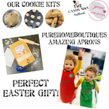 Cookie kits with personalised apron