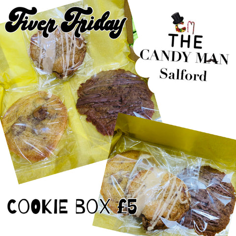 Fiver Friday cookie box