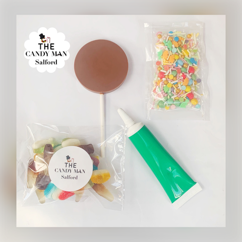 Lolly decorating kit