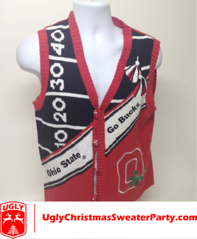 The Buckeye Beauty Ugly Sweater