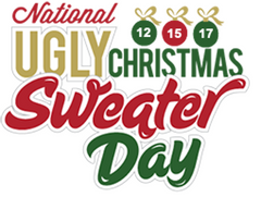 2017 National Ugly Christmas Sweater Day is Friday December 15 2017