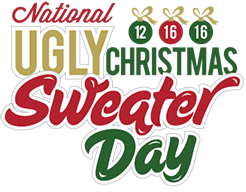 National Ugly Christmas Sweater Day December 16 2016