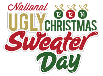 National Ugly Christmas Sweater Day is December 12, 2014