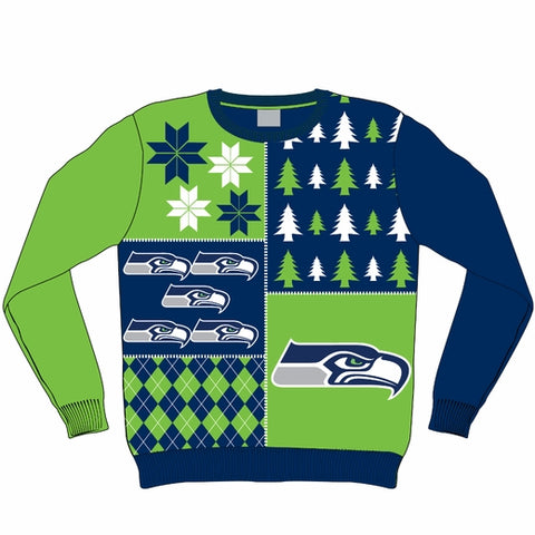 Buy Seattle Seahawks Ugly Christmas Sweaters