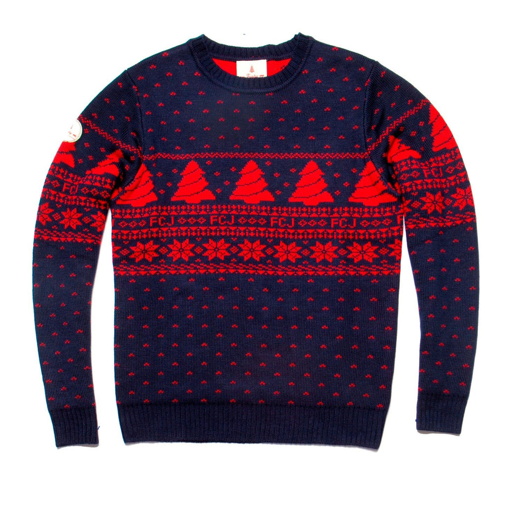 Vintage Style Fair Isle Christmas Sweater – Ugly Christmas Sweater ...