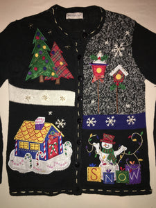 Black Ice Christmas Jumper