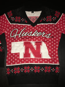 Nebraska Huskers Christmas Sweater