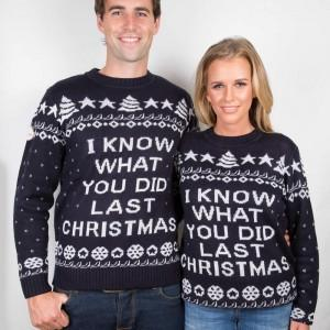 Funny Christmas Sweater Last Christmas
