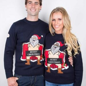 Censored Santa Funny Christmas Sweaters