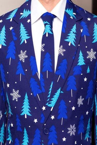 Ugly Christmas Suit - Winter Woods