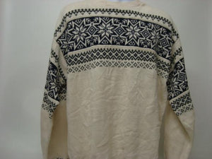 Tacky Sweater with Snowflake Design