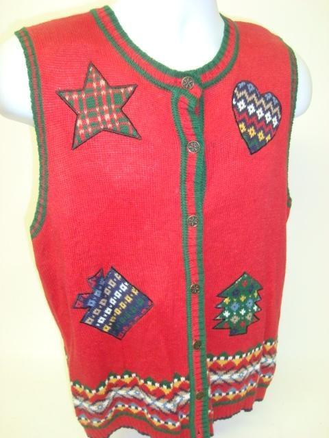 Major Heart On Tacky Christmas Sweaters 3623