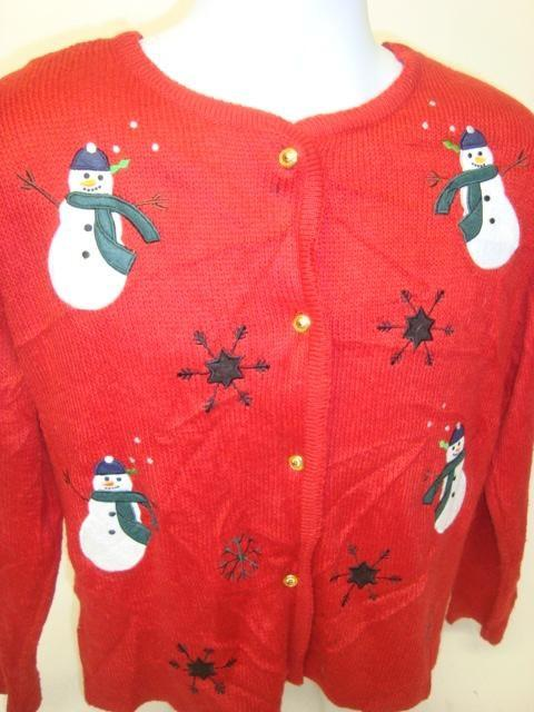 Double Blind Date Vintage Christmas Sweater 3805