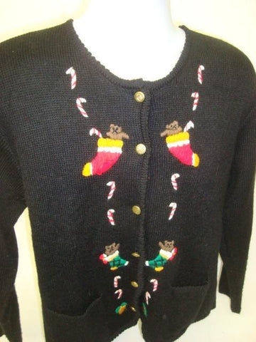 Candy Cane Escape Route Bad Christmas Sweater