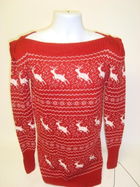 Reindeer Battle - Cheap Christmas Sweater