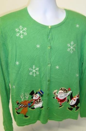 Sweater Made of Pure Grinch
