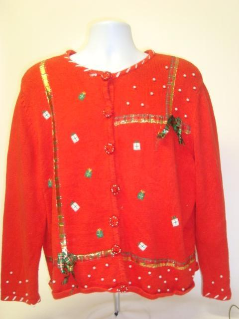 All Packaged Up - Vintage Christmas Sweater