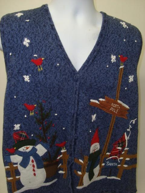 You Vest Get Off My Lawn Ugly Sweater Vest 9007