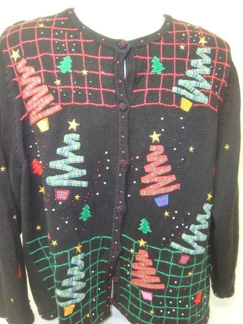 Like Totally 80s Christmas Sweater Bro