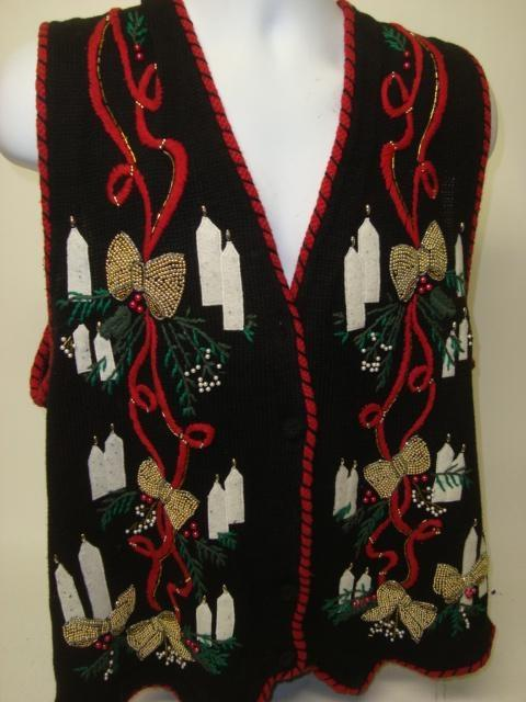 XXL Ugly Christmas Sweater Vest Where To Buy Tacky Vintage Cheap Sweaters