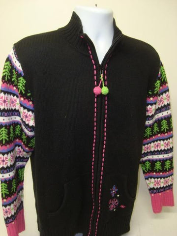 50 Shades of Neon 80s Christmas Sweater 9020