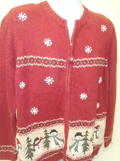 Maroon Six - XL Ugly Christmas Jumper