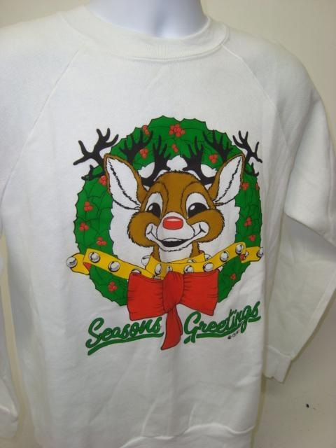 Rudolph Says Relax Ugly Christmas Sweatshirt